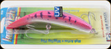 Luhr Jensen 5414-016-1624 Kwikfish K16X Blazin Purple Pink UV 5-9/16""