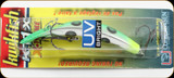 "Luhr Jensen 5413-11X-1600 Kwikfish K11X 3-3/8"" Flo Grn/Cht UV"