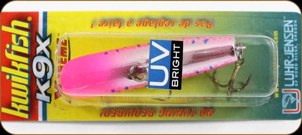 Jensen            Kwikfish     K11X                   Blazin/' Pink  UV Luhr