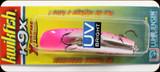 "Luhr Jensen 5413-9X-1624 Kwikfish K9X Blazin Purple Pink UV 2-3/4"""
