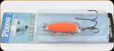 Blue Fox 01-30-002IC Pixee Spoon 1/2oz Nic/Flo Orange