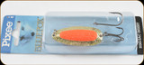 Blue Fox 01-30-032IC Pixee Spoon 1/2oz Gold/Flo Orange