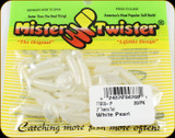 "Mr Twister TTSF20-1P Teenie Tail 2"" White Pearl 20Pk"