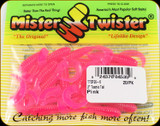 "Mr Twister TTSF20-6 Teenie Tail 2"" Pink 20Pk"