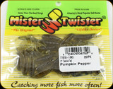 "Mr Twister TTSF20-11BKS Teenie Tail 2"" Pumpkin Pepper 20Pk"
