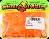 "Mr Twister MTSF20-8 Meeny Tail 3"" Orange 20Pk"