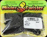 "Mr Twister MTSF20-3 Meeny Tail 3"" Black 20Pk"