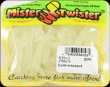 "Mr Twister MTSF20-LS Meeny Tail 3"" Luminescent 20Pk"