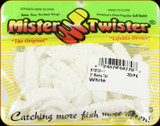 "Mr Twister MTSF20-1 Meeny Tail 3"" White 20Pk"