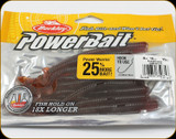 "Berkley PBBPW4-PS Powerbait 4"" Power Worms Pumpkinseed 15Pk"