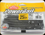 "Berkley PBBPW7-BL Powerbait 7"" Power Worms Black 13Pk"