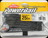 "Berkley PBBPW4-BL Powerbait 4"" Power Worms Black 15Pk"