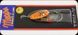 Mepps CTV3TP TOBK Comet Tru-V Orange/Blk Dots Sz 3;1/4oz 1Pk
