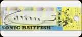 Macks Lure 30021 Sonic Baitfish 1/4oz Glow White