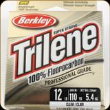 Berkley TFPS12-15 Trilene 100% Fluoro 12Lb 110yd Clear
