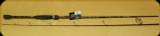 Abu Garcia VNGS702-5 Vengeance Spin Rod 7' 2pc M-F 3/16-5/8oz