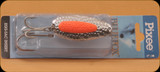 Blue Fox 01-40-002 Pixee Spoon 7/8oz Nikel Plated/Flo Orange Insert