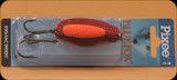 Blue Fox 01-40-092 Pixee Spoon 7/8oz Metallic Red/Flo Orange Insert