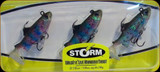 "Storm WLRT02 WildEye Live Rainbow Trout Swimbait 2"" 1/8oz 3Pk"