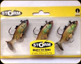 "Storm WLSH02 WildEye Live Shiner Swimbait 2"" 3/16oz 3Pk"
