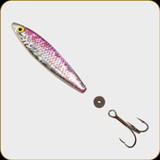 Buzz Bomb - Zzinger - Anchovy/Herring - 1/2oz - Pink Holograph