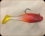 Alure - Strobe Soft Bait - Orange/Yellow