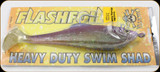 Calcutta FFHD9PRPH Flashfoil Shad HD Hook 9 8oz Pumpkin Haze 1Pk