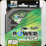Power Pro Fishing Line, 5 lb / 100 Yards - Hi Vis Yellow