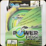 Power Pro Fishing Line, 8 lb / 150 Yards - Hi Vis Yellow