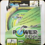 Power Pro Fishing Line, 8 lb / 150 Yards - Hi Vis Yellow