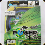 Power Pro Hollow Ace Fishing Line, 40 lb / 100 Yards - Hi Vis Yellow