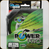 Power Pro Fishing Line, 3 lb / 100 Yards - White