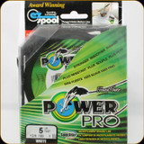 Power Pro Fishing Line, 5 lb / 100 Yards - White