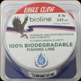 Eagle Claw Bioline, Biodegradable Line 8 lb / 225 yards