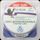 Eagle Claw Bioline, Biodegradable Line 4 lb / 225 yards