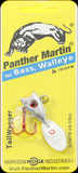 Panther Martin 9PMTW-AB 3/8 oz. Tail Wagger Albino Red Blue
