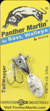 Panther Martin 9PMTW-CB 3/8 oz. Tail Wagger Chrome Black