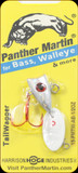 Panther Martin 15PMTW-AB 1/2 oz. Tail Wagger Albino Red Blue
