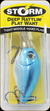 "Storm DRFW05594 Deep Rattlin Flat Wart 2"" 3/8oz Blue Chr/Orange"