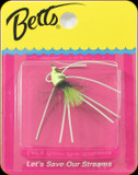 Betts 509-10-5 Pop-N-Fish Sz10 Chartreuse 1Pk