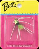 Betts 509-10-5 Pop-N-Fish Sz10 Chartreuse 1Pk