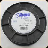 Ande Line Prem Mono 25Lb 1000Yrd Clear 1/2Lb