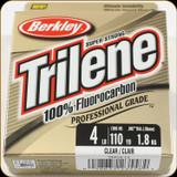 Berkley TFPS4-15 Trilene 100% Fluoro 4Lb 110yd Clear
