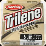 Berkley TFPS6-15 Trilene 100% Fluoro 6Lb 110yd Clear