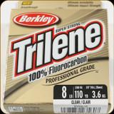 Berkley TFPS8-15 Trilene 100% Fluoro 8Lb 110yd Clear