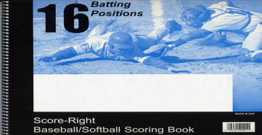 Score-Right Scoring Books - 16 Positions