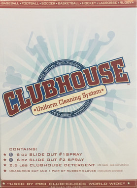 "Clubhouse ""Uniform Cleaning System"" Kit"