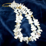 Double Strand Freshwater Stick Pearls