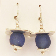 In the Shade with Royal Blue Earrings