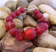 Shades of Red Bracelet